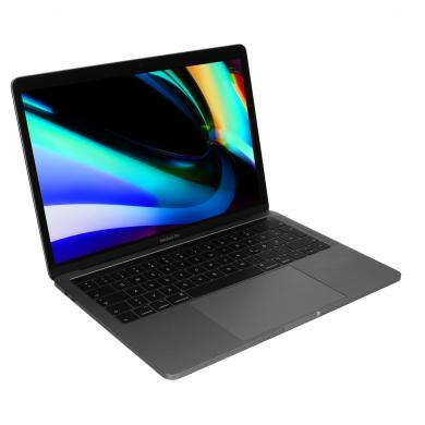 "Apple MacBook Pro 2019 13"" (QWERTZ) Touch Bar/ID Intel Core i5 2,40GHz 512Go SSD 8Go gris sidéral - Bon"