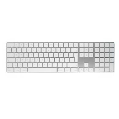 Apple Magic Keyboard QWERTZ mit Ziffernblock (A1843 / MQ052D/A) silber