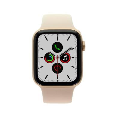 Apple Watch Series 5 Aluminiumgehäuse gold 44mm mit Sportarmband sandrosa (GPS+Cellular) - neu