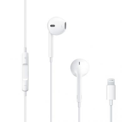 Apple EarPods mit Lightning Connector weiß - neu