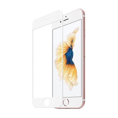 asgoodasnew Glas Folie 3D für Apple iPhone 6 / 6S *ID17117 weiss - neu