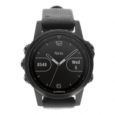 Garmin Fenix 5S Saphir negro (010-01685-11) negro - nuevo