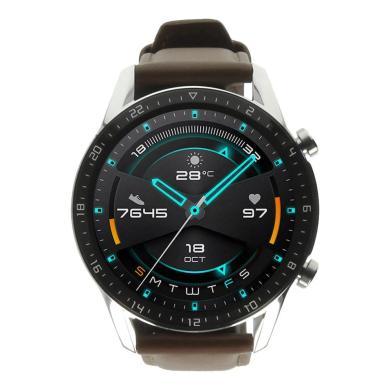 Huawei Watch GT2 - caja de acero inoxidable en marron con correa en cuero marron - nuevo