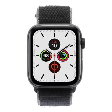 Apple Watch Series 5 aluminio gris 44mm con pulsera deportiva Loop azul (GPS + Cellular) gris - nuevo