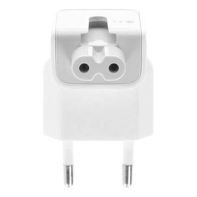 EU Duckhead Stecker Adapter für Apple Netzteile -ID17318 weiß - neu