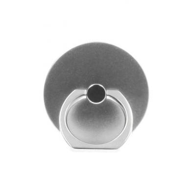 Handy Fingerhalter / Ständer -ID17448 silber