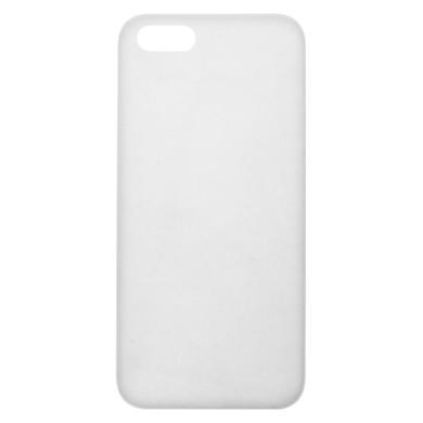 Hard Case für Apple iPhone SE / 5 / 5S / 5C -ID17504 weiß/durchsichtig