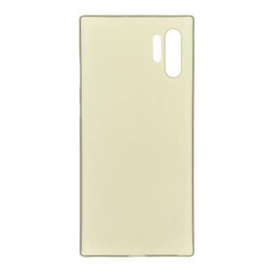 Hard Case für Samsung Galaxy Note 10 Plus -ID17535 schwarz/durchsichtig
