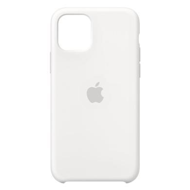 Apple Silikon Case für iPhone 11 Pro (MWYL2ZM/A) weiß