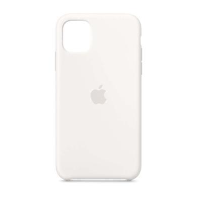 Apple Silikon Case für iPhone 11 (MWVX2ZM/A) -ID17795 weiß - neu