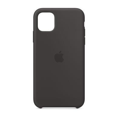 Apple Silikon Case für iPhone 11 (MWVU2ZM/A) -ID17796 schwarz