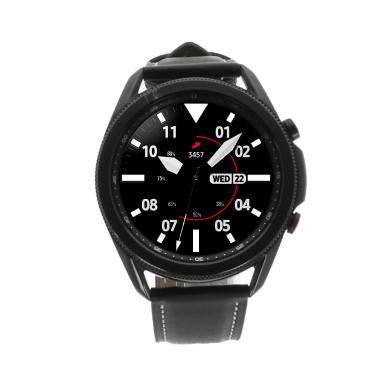 Samsung Galaxy Watch 3 LTE acier inoxdable 45mm - noir mystique (SM-R845) - Neuf