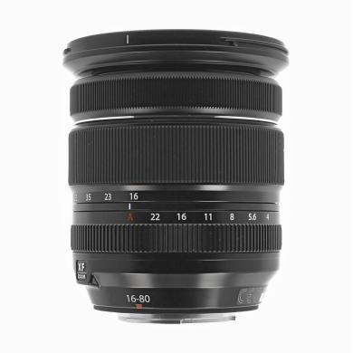 Fujifilm 16-80mm 1:4.0 Fujinon XF R OIS WR noir - Neuf