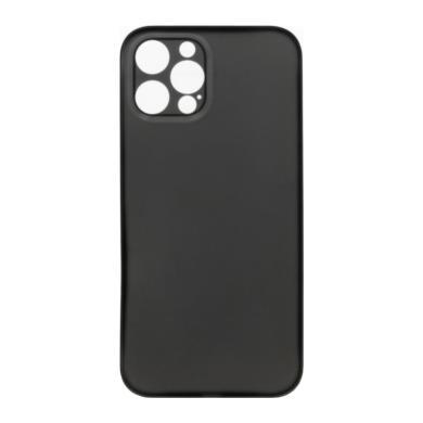 Hard Case für Apple iPhone 12 Pro Max -ID18134 schwarz/durchsichtig - neu