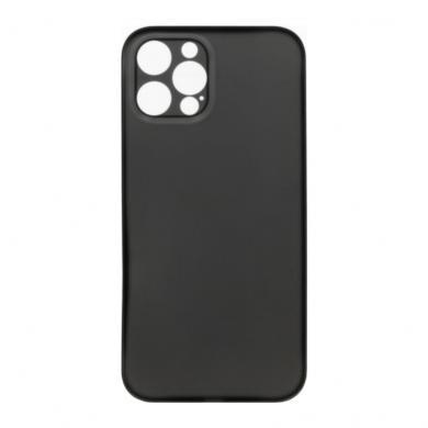Hard Case für Apple iPhone 12 Pro -ID18139 schwarz/durchsichtig