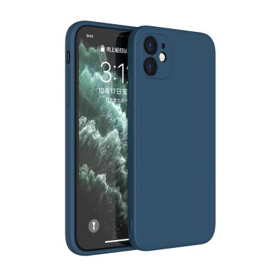 Soft Case für Apple iPhone 12 -ID18142 blau - neu