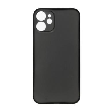 Hard Case für Apple iPhone 12 Mini -ID18149 schwarz/durchsichtig - neu