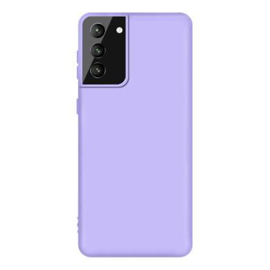 Soft Case für Samsung Galaxy S21 Plus -ID18158 violett - neu