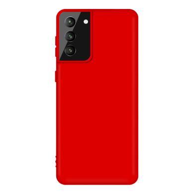 Soft Case für Samsung Galaxy S21 Plus -ID18159 rot - neu