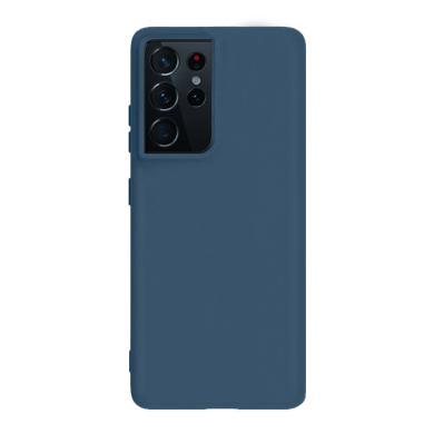 Soft Case für Samsung Galaxy S21 Ultra -ID18160 blau - neu