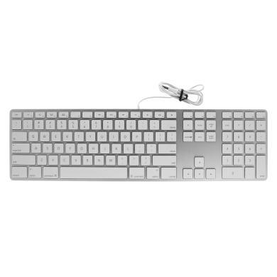Apple Keyboard QWERTY mit Ziffernblock (A1243 / MB110B/B) weiß
