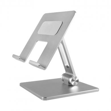 Verstellbarer Aluminium Tabletständer Faltbar -ID18206 silber