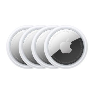Apple AirTag 4er-Pack weiß/silber