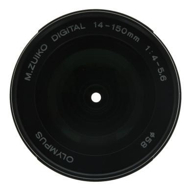 Olympus Zuiko Digital 14-150mm 1:4-5.6 ED noir argent - Neuf