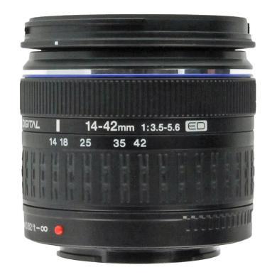Olympus Zuiko 14-42 mm f3.5-5.6 ED Objetivo negro - nuevo