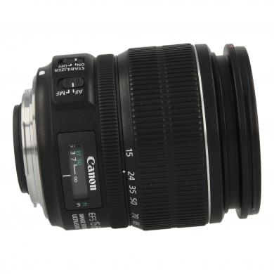 Canon EF-S 15-85mm 1:3.5-5.6 IS USM Schwarz - gut