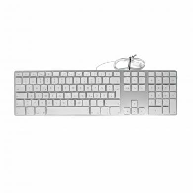Apple Keyboard mit Ziffernblock (A1243 / MB110D/A) weiss - QWERTY - gut