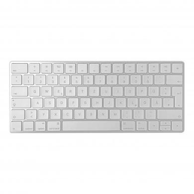 Apple Magic Keyboard QWERTZ (A1644 / MLA22D/A) Silber - sehr gut