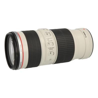 Canon EF 70-200mm 1:4 L IS USM negro blanco - nuevo