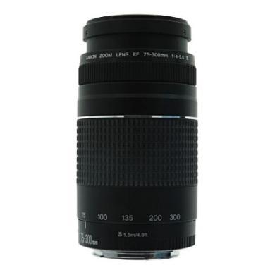 Canon 75-300mm 1:4-5.6 EF II negro - nuevo