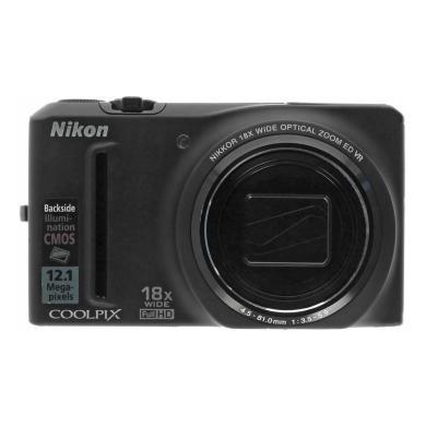 Nikon Coolpix S9100 schwarz - neu