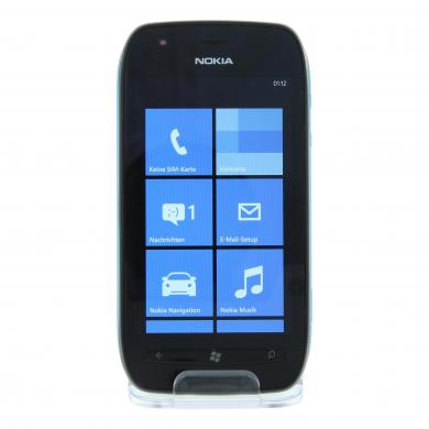 Nokia Lumia 710 8 GB schwarz blau - neu