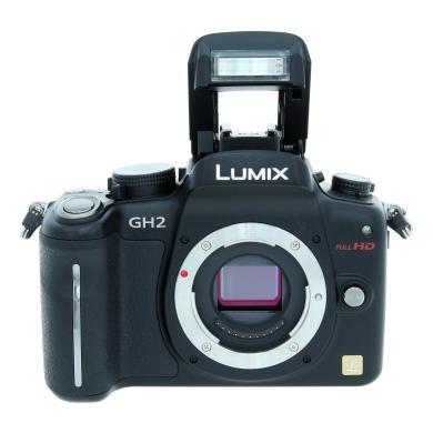 Panasonic Lumix DMC-GH2 Schwarz - neu