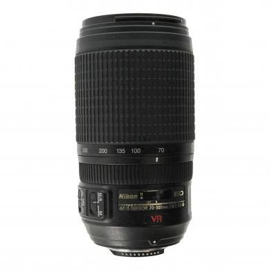 Nikon 70-300mm 1:4.5-5.6 AF-S G ED VR NIKKOR negro - nuevo