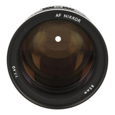 Nikon 85mm 1:1.4 AF D IF NIKKOR Schwarz - neu
