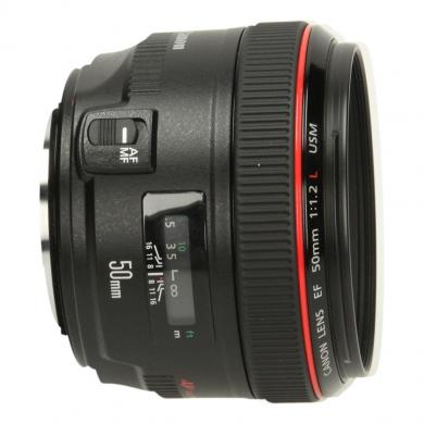 Canon EF 50mm 1:1.2 L USM Schwarz - neu