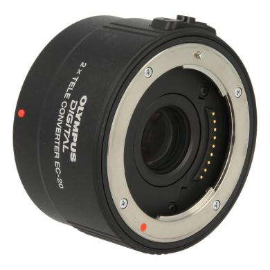 Olympus Zuiko Digital EC-20 2x objetivo negro - nuevo
