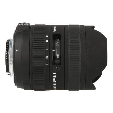 Sigma 8-16mm 1:4.5-5.6 DC HSM para Nikon negro - nuevo