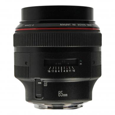 Canon EF 85mm 1:1.2 L II USM negro - nuevo