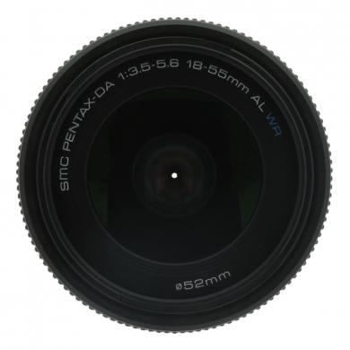 Pentax smc 18-55mm 1:3.5-5.6 DA AL WR noir - Neuf