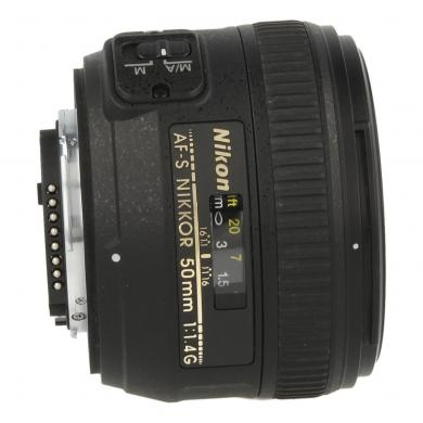 Nikon AF-S Nikkor 50mm 1:1.4G negro - nuevo