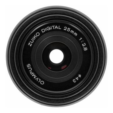 Olympus Zuiko Digital 25mm 1:2.8 Pancake noir - Neuf