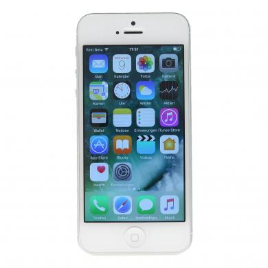 Apple iPhone 5 (A1429) 16 GB Blanco - como nuevo