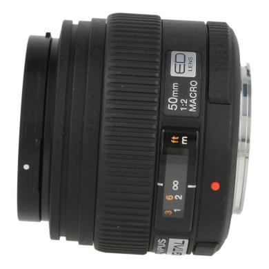 Olympus Zuiko Digital 50mm 1:2 ED macro noir - Neuf