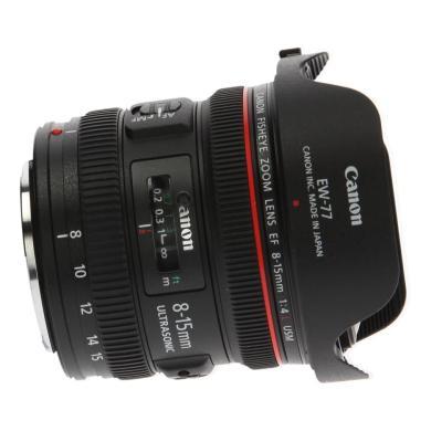 Canon EF 8-15mm 1:4.0 L USM negro - nuevo