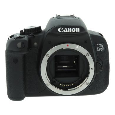 Canon EOS 650D noir - Neuf
